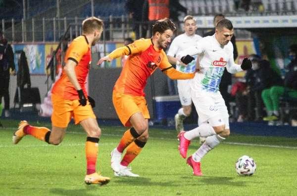 Galatasaray ile Çaykur Rizespor 40. randevuda