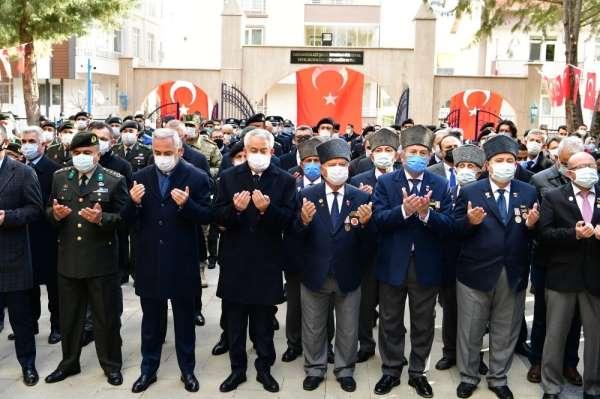 Ispartada 18 Mart Şehitleri Anma Günü ve Çanakkale Zaferinin 106. yıldönümü