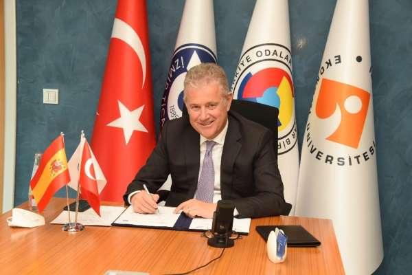 İZTO, Eriha ve Valencia ticaret odaları ile Kardeş Oda protokolü imzaladı