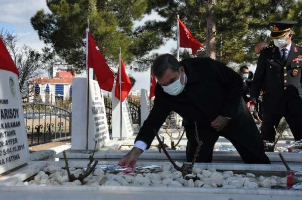 Karamanda Şehitleri Anma Günü ve Çanakkale Zaferinin 106. yıldönümü etkinlikleri