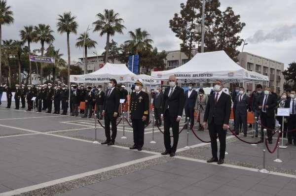 Marmariste 18 Mart Çanakkale Zaferi ve Şehitleri Anma Günü töreni yapıldı