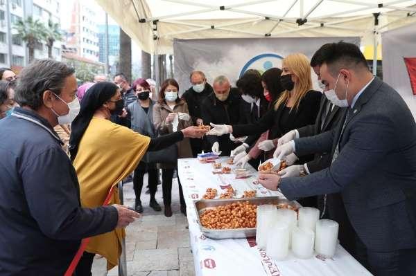 Merkezefendi Belediyesinden 18 Mart Şehitleri Anma Gününe özel lokma hayrı