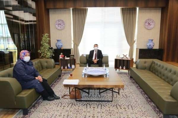 Şehit Polis Ahmet Demir Kütüphanesine destek sözü