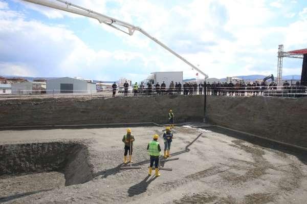Turhalda 296 konut, işyeri ve caminin temeli törenle atıldı