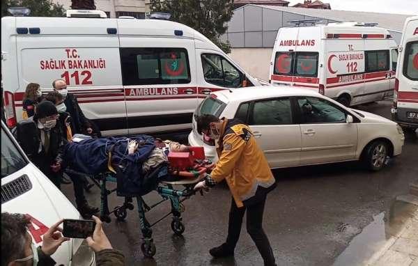 Zonguldakta maden ocağında iş kazası: 1 mühendis, 1 işçi yaralı