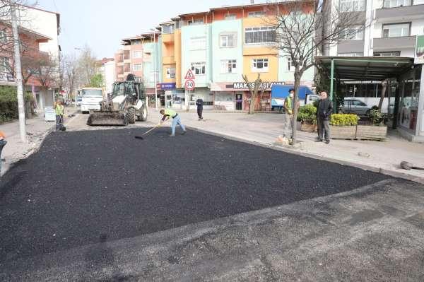 Darıcada asfalt yama çalışmaları hız kazandı
