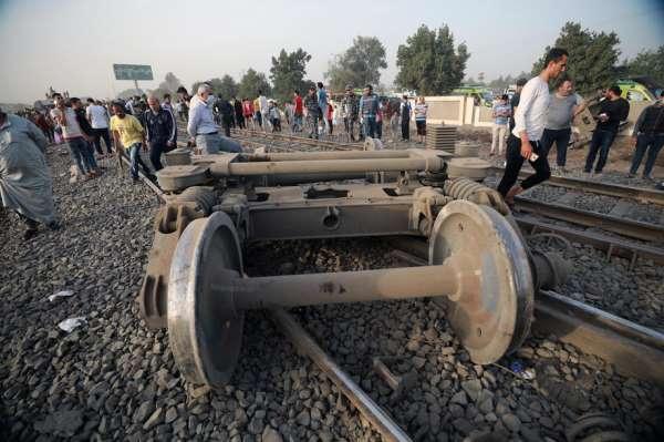 Mısırdaki tren kazasında ölü sayısı 11e yükseldi