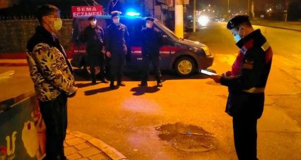 Samsunda karantina ihlali yapan bir kişi jandarmaya yakalandı