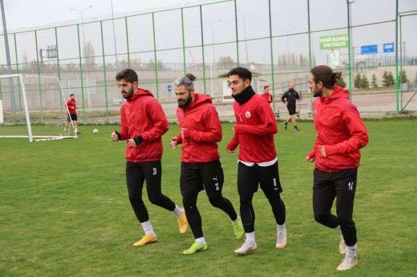 Sivas Belediyesporda Eyüpspor maçı hazırlıkları başladı