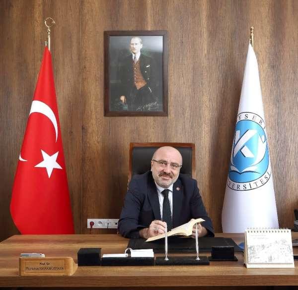 Rektör Karamustafadan 19 Mayıs Atatürkü Anma Gençlik ve Spor Bayramı Mesajı