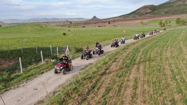 Bu köyde traktörlerin yerini ATVler aldı