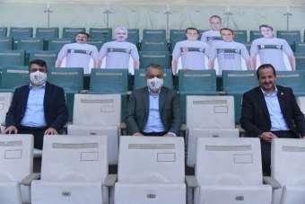AK partiden Bursaspor'a tam destek