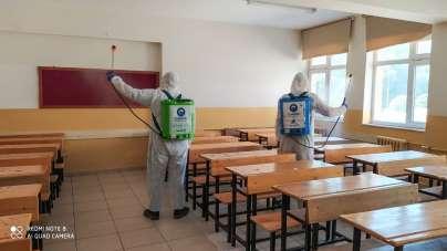 Canik'te okullar LGS'ye hazır