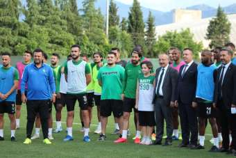 Denizlispor, Beşiktaş maçı hazırlıklarına devam ediyor