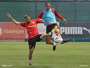 Göztepe, Yeni Malatyaspor maçına hazırlanıyor