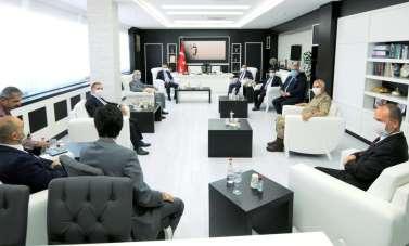 Rektör Prof. Dr. Cevdet Erdöl ile beraberindeki Heyet üniversiteyi ziyaret etti