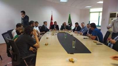 Vali Atik: 'Ben artık Denizlispor taraftarıyım'