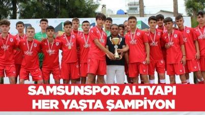 Samsunspor Altyapı Her Yaşta Şampiyon