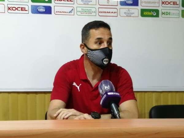Giresunspor-Altay maçının ardından
