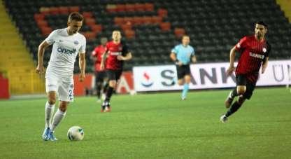 Süper Lig: Gaziantep FK: 1 - Kasımpaşa: 2 (İlk yarı)