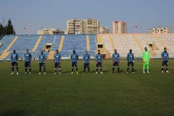 TFF 1. Lig: Adana Demirspor: 2 - İstanbulspor: 0 (İlk yarı sonucu)