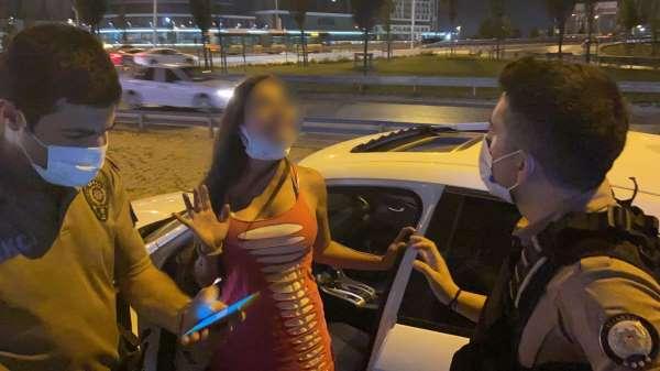 Alkollü kadın sürücü terör estirdi