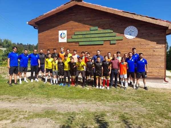 Eko Turizm ve Eğitim kampında Bursaspor Futbol Okulu eğitime başladı