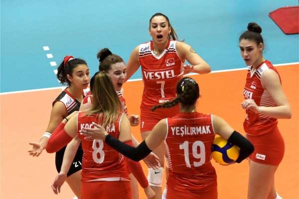 FIVB U20 Dünya Şampiyonası: Türkiye: 1 - Belarus: 3