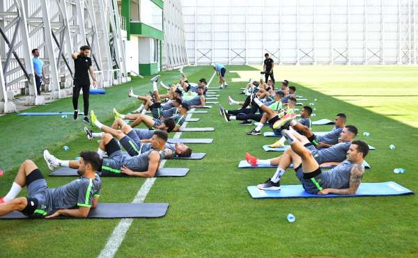 Konyaspor, 1. etap kamp çalışmalarını tamamladı