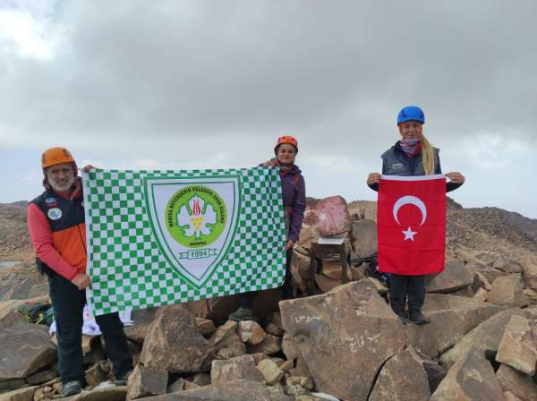 Manisa BBSKlı dağcılardan önemli tırmanış