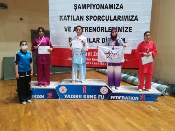 Meram Belediyesporlu sporcular şampiyonadan 12 madalya ile döndü