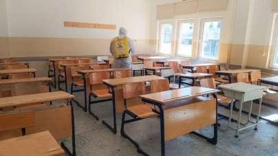 Canik'te okullar yeni eğitim dönemine hazırlanıyor