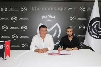Manisa FK Serkan Özbalta ve Taner Savut'la sözleşme imzaladı
