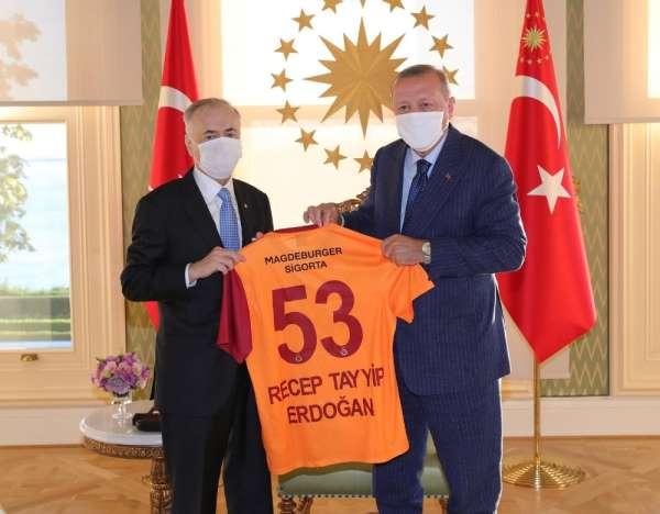 Mustafa Cengizden Cumhurbaşkanı Recep Tayyip Erdoğana ziyaret
