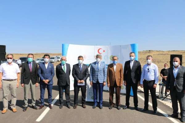 Erciş OSB'nin yol ve elektrik çalışmaları tamamlandı