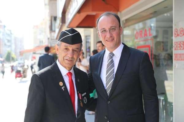 Başkan Örki; Şehit ve gazilerimizin gönlümüzdeki yeri en yüksek mertebedir