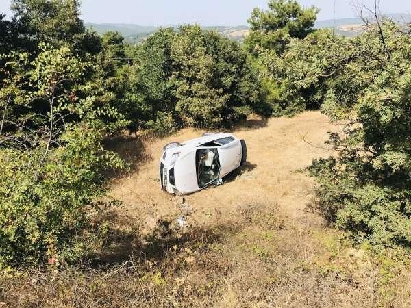 Çanakkalede trafik kazası: 2 yaralı