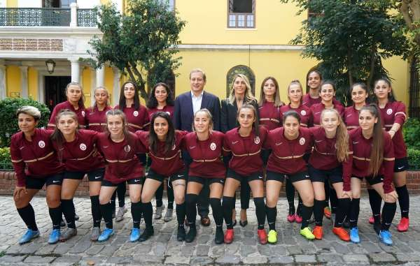 Galatasaray Kadın Futbol Takımının lansmanı yapıldı