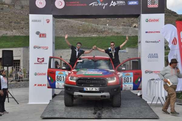 TransAnatolia Rally Raid Rallisinde dereceye girenler ödüllerini aldı