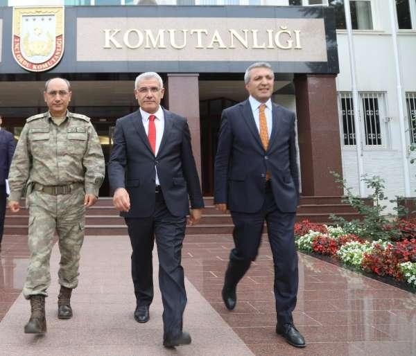 Başkan Osman Güder'den 2.Ordu'ya destek ziyareti