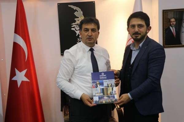 Enes Kaşkaş'tan Murat Eskici'ye Ziyaret
