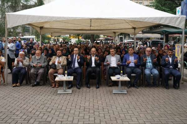 Terme'de dualar Mehmetçik için