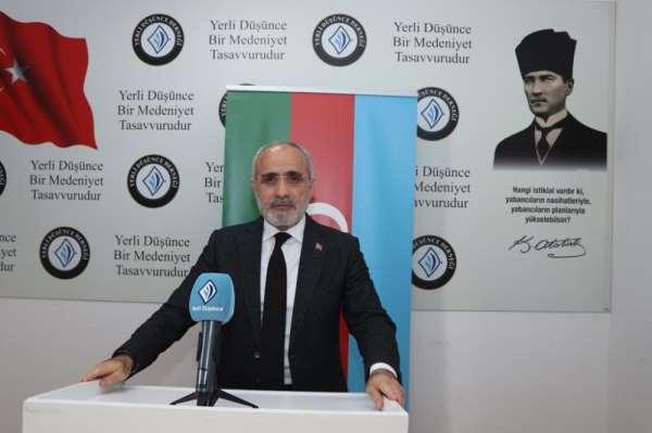 Cumhurbaşkanı Başdanışmanı Topçu: 'Ermenistan'a sosyal, siyasi ve ekonomik yaptı