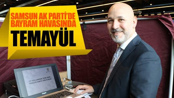 Samsun Haberleri: AK Parti'de Bayram Havasında Temayül!