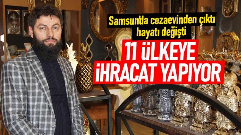 Samsun'da cezaevinden çıktı hayatı değişti!