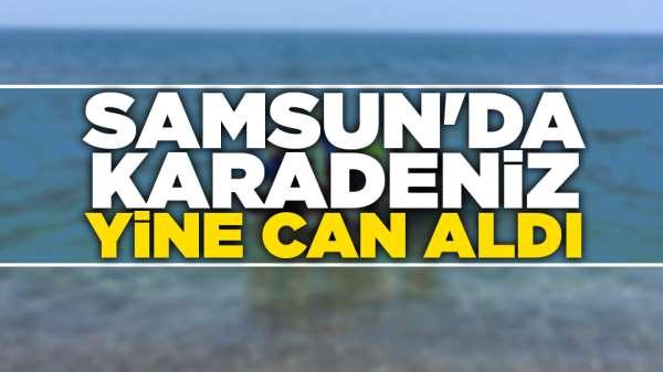 Samsun'da Karadeniz yine can aldı
