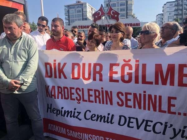 Samsun Atakumlu vatandaşlardan Başkan Deveci'ye destek
