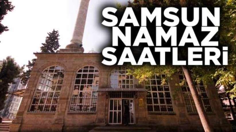 18 Şubat Salı Samsun'da namaz saatleri