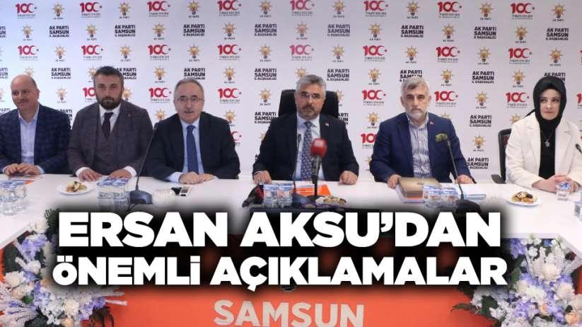 Ersan Aksu'dan önemli açıklamalar