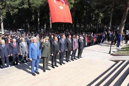 Burdur'da 18 Mart Şehitleri Anma Günü ve Çanakkale Zaferi'nin 104'ncü yıl dönümü